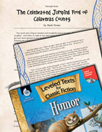 Leveled Texts: The Celebrated Jumping Frog of Calaveras County