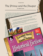 Leveled Texts: The Prince and the Pauper
