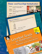 Leveled Texts: Three- and Four-Digit Multiplication