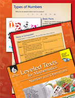 Leveled Texts: Types of Numbers
