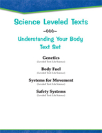 Leveled Texts - Understanding Your Body Text Set