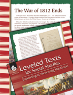 Leveled Texts: War of 1812 Ends