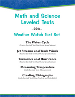 Leveled Texts - Weather Watch Text Set