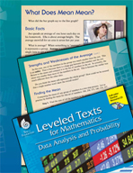 Leveled Texts: What Does Mean Mean?
