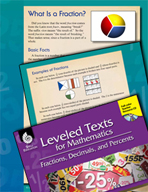 Leveled Texts: What Is a Fraction?