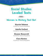 Leveled Texts - Women in History Text Set