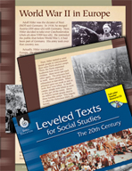 Leveled Texts: World War II in Europe