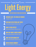 Light Energy - Investigating Reflections and Refractions