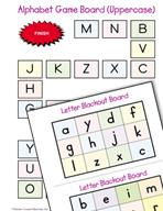 Literacy Activities to Practice Letter Identification