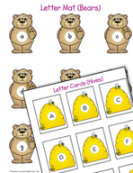 Literacy Activities to Practice Matching Uppercase and Lowercase Letters