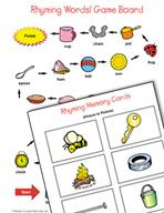 Literacy Activities to Practice Rhyming