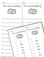 Literacy Activities to Practice Spelling and Editing