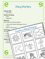 Literacy Activities to Practice Writing with Frames