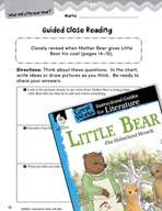 Little Bear Close Reading and Text-Dependent Questions (Gr