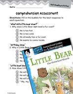 Little Bear Comprehension Assessment (Great Works Series)