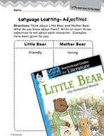 Little Bear Language Learning Activities (Great Works Series)