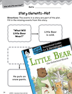 Little Bear Studying the Story Elements (Great Works Series)