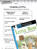 Little Bear Vocabulary Activities (Great Works Series)