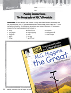 M.C. Higgins, the Great Making Cross-Curricular Connections (Great Works Series)