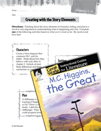 M.C. Higgins, the Great Studying the Story Elements (Great Works Series)