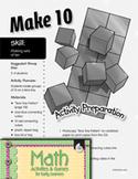 Making Sets of Ten - Make 10 Activity