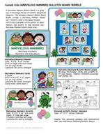 Manners Bulletin Board Set by Karen's Kids