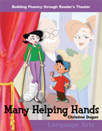 Many Helping Hands - Reader's Theater Script and Fluency Lesson