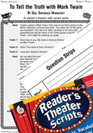 Mark Twain Reader's Theater Script and Lesson