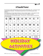 Martin Luther King, Jr. Activities -  Puzzle and Art Activities
