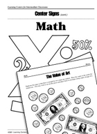 Math Centers for Intermediate Classrooms