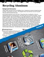 Matter Inquiry Card - Recycling Aluminum