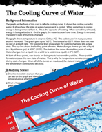 Matter Inquiry Card - The Cooling Curve of Water