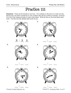 Measurement: Working with Time Practice