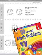 Measurement and Data Leveled Problem: Determining Time - What Time?