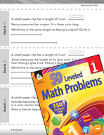 Measurement and Data Leveled Problem: Measuring Length - Find It