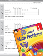Measurement and Data Leveled Problem: Picture Graphs - Finding Favorites