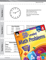 Measurement and Data Leveled Problems: Elapsed Time