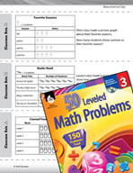 Measurement and Data Leveled Problems: Interpreting Picture Graphs