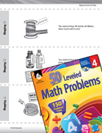 Measurement and Data Leveled Problems: Measurement and Money