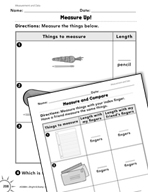 Measurement and Data: Measuring Length Practice