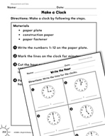 Measurement and Data: Time Practice