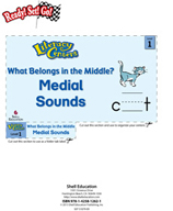 Medial Sounds - What Belongs in the Middle? Literacy Center