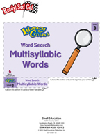 Multisyllabic Words - Word Search Literacy Center