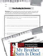 My Brother Sam Is Dead Close Reading and Text-Dependent Questions (Great Works Series)