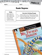 My Father's Dragon Reader Response Writing Prompts (Great Works Series)