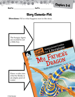 My Father's Dragon Studying the Story Elements (Great Works Series)