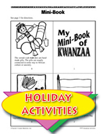 My Mini-Book of Kwanzaa and Other Themed Activities