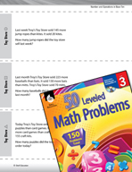 Number and Operations in Base Ten Leveled Problems: Money Word Problems