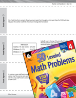Number and Operations in Base Ten Leveled Problems: Real-world Word Problems