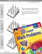 Number and Operations in Base Ten Leveled Problems: Using Pictures to Solve
